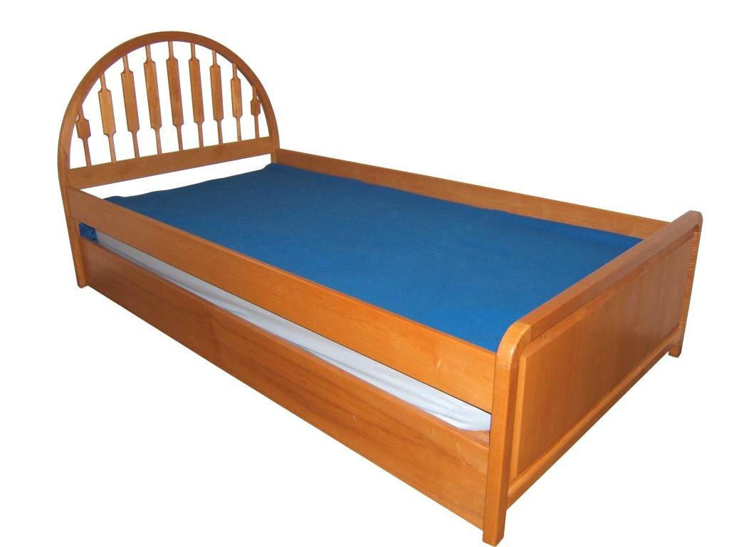 Heirloom Custom Woodworks Trundle Bed