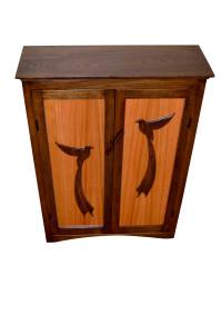 Bird of Paradise Cabinet