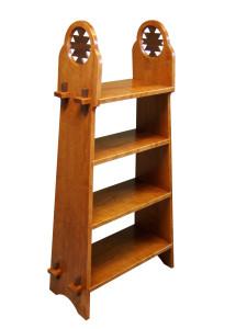 Cherry & Walnut Bookcase