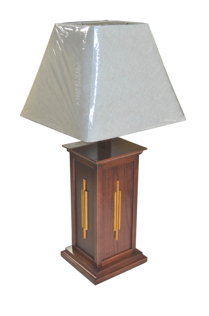 Heirloom Custom Woodworks Lamp
