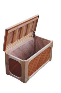 Maple & Oak Toy Box