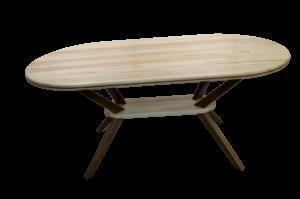 Maple & Walnut Table