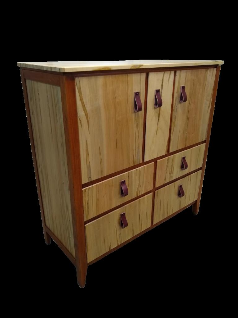 Maple & Cherry Cabinet